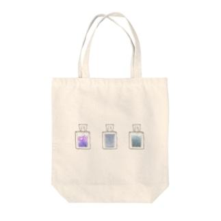雨の香水 Tote bags