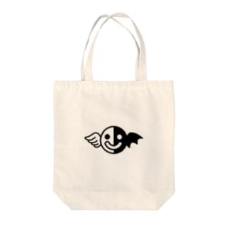 白黒くん Tote bags