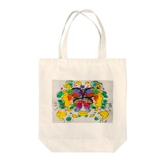 バタフライエフェクト Tote bags
