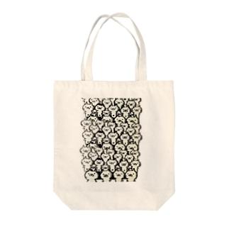 わらわらニャンコシリーズ Tote bags