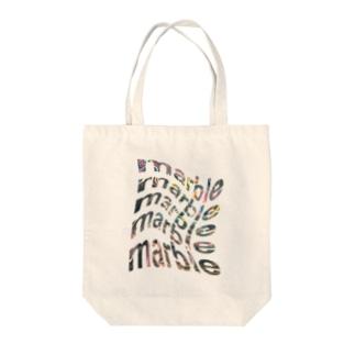 まーぶるmarble Tote bags