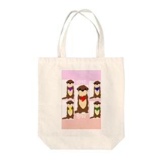 minminのラブカワウソちゃん Tote bags