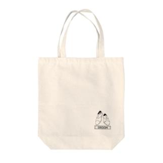 ペア(GROOM)シューズ_ホワイト Tote Bag