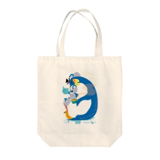 Penguin Tea Time Tote bags