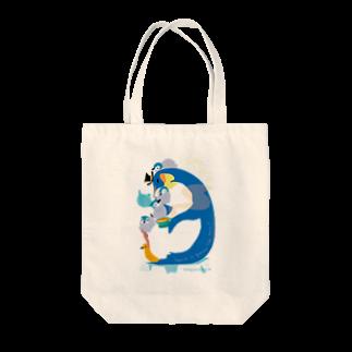 ペンギンパカリのPenguin Tea Time Tote bags
