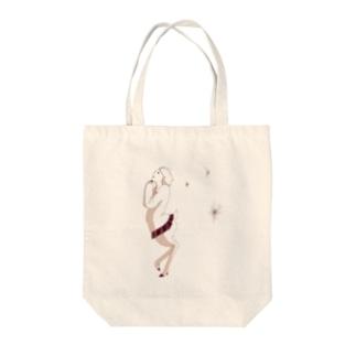 お祈り鹿子 Tote bags