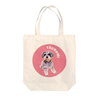 よっしぃのTSUBOMI Tote bags