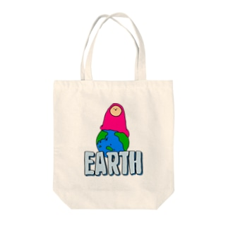 EARTH - チキュウ Tote bags