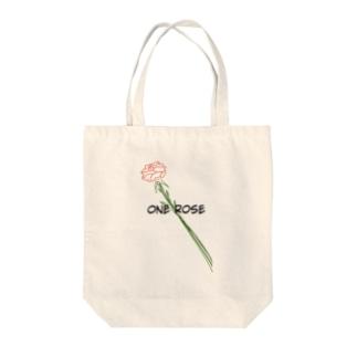finderのfinder ONE ROSE Tote bags