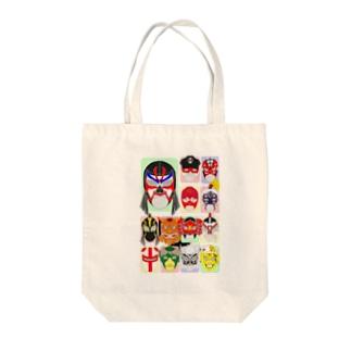 みちのくマスクマン Tote bags