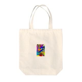 Misty world Tote bags