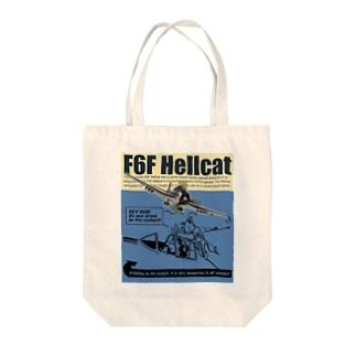 F6F ヘルキャット Tote bags