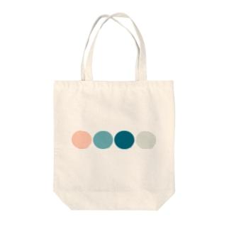 acotasoの北欧風カラー Tote bags