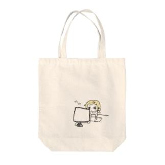 しゃちく(1) Tote bags