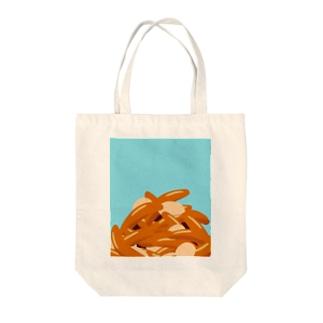 青空柿ピー Tote bags