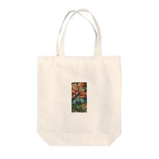 410kiki_shop(フォトキキ)の油絵風_花束 Tote bags