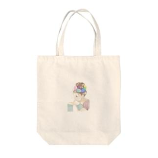 バルーン少女 Tote bags