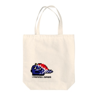LONPARI 8BITS 「CAAAAP」 Tote bags