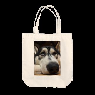 Dream Dog World 【夢犬】のたいくつじょ〜 Tote bags