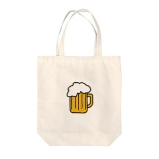 ビール Tote bags