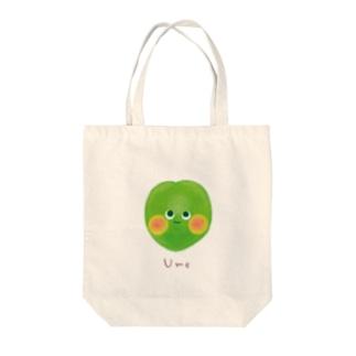 ARNOのume Tote bags