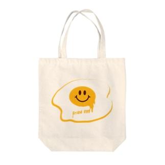 目玉焼きくん Tote bags