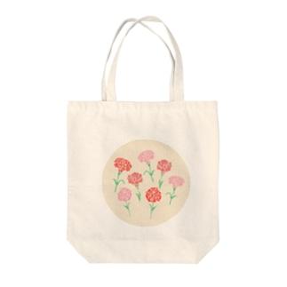 お花シリーズ Tote bags