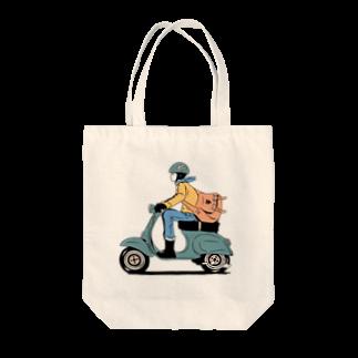 こじんまり商店のポス子さん Tote bags