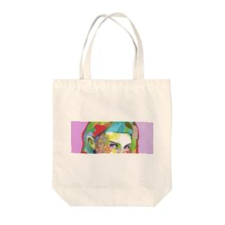 POP GIRL #8 Tote bags