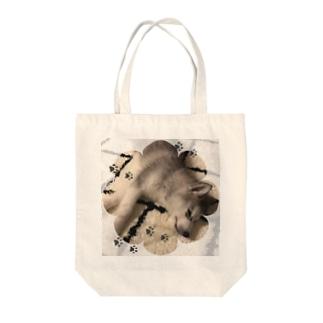 ハスキー  HAKU 2 Tote bags