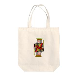 中2男子の歌舞伎メイク Tote bags