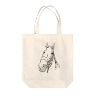 馬 Tote bags