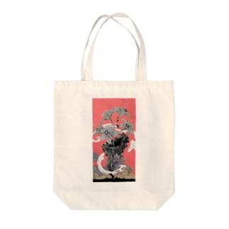 東京とユリ Tote bags