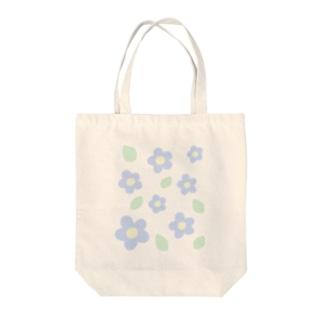 お花と葉っぱ Tote bags