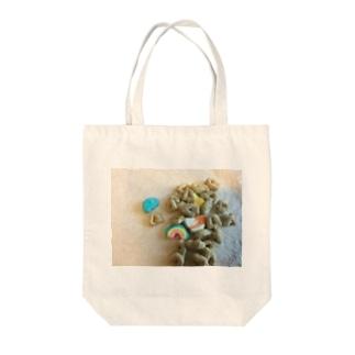 お菓子 Tote bags