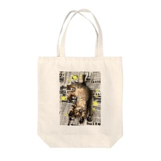 仔猫のtiro  Tote bags