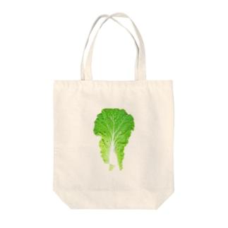 袋詰めする時におとした要らない白菜の葉 Tote bags