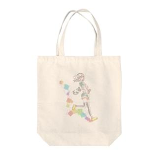 ニースくん Tote bags