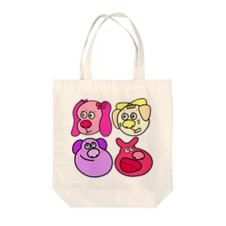 おもちさん Tote bags