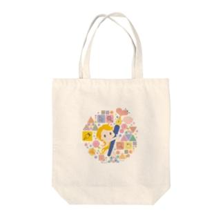 Illustratorの女神ちゃん Tote bags