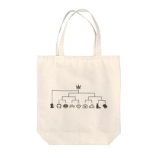 スーパーシード猫 Tote bags