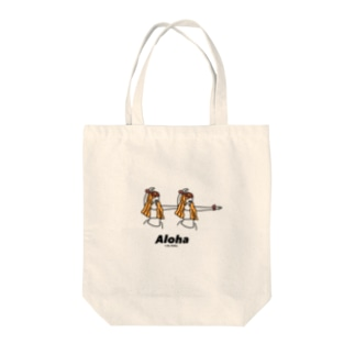 a_by_atelierのフラガール Tote bags