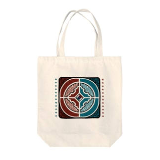 GEM DUELエンブレム Tote bags