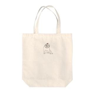 体育なワンチャン Tote bags