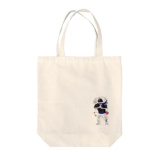 ウチュウニンジャ Tote bags