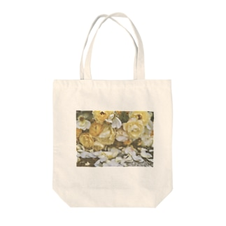 枯れゆく様も美しい(薄粗) Tote bags