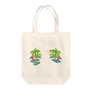 ゆるスカ パームツリー 180 Tote bags