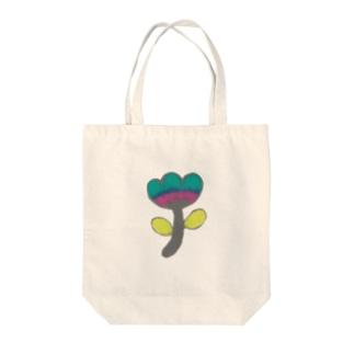 色鉛筆のオハナ Tote bags
