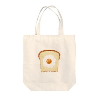 食パンドット Tote bags