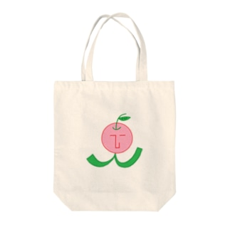 the face リンピ☆ (りんご) Tote bags